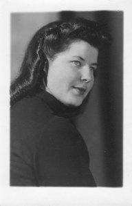 Vera in 1943, Riga.